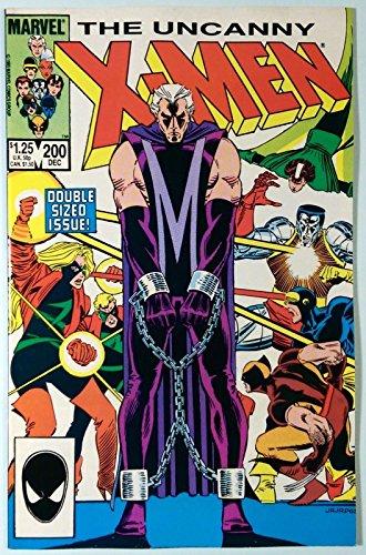 Uncanny X-Men (1981) #200 NM- (9.2) Magneto cover