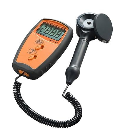 Medidores UV Radiómetros UV Medidor de luz UV Medición UVA y UVB UV340B Detectores: Amazon.es: Bricolaje y herramientas