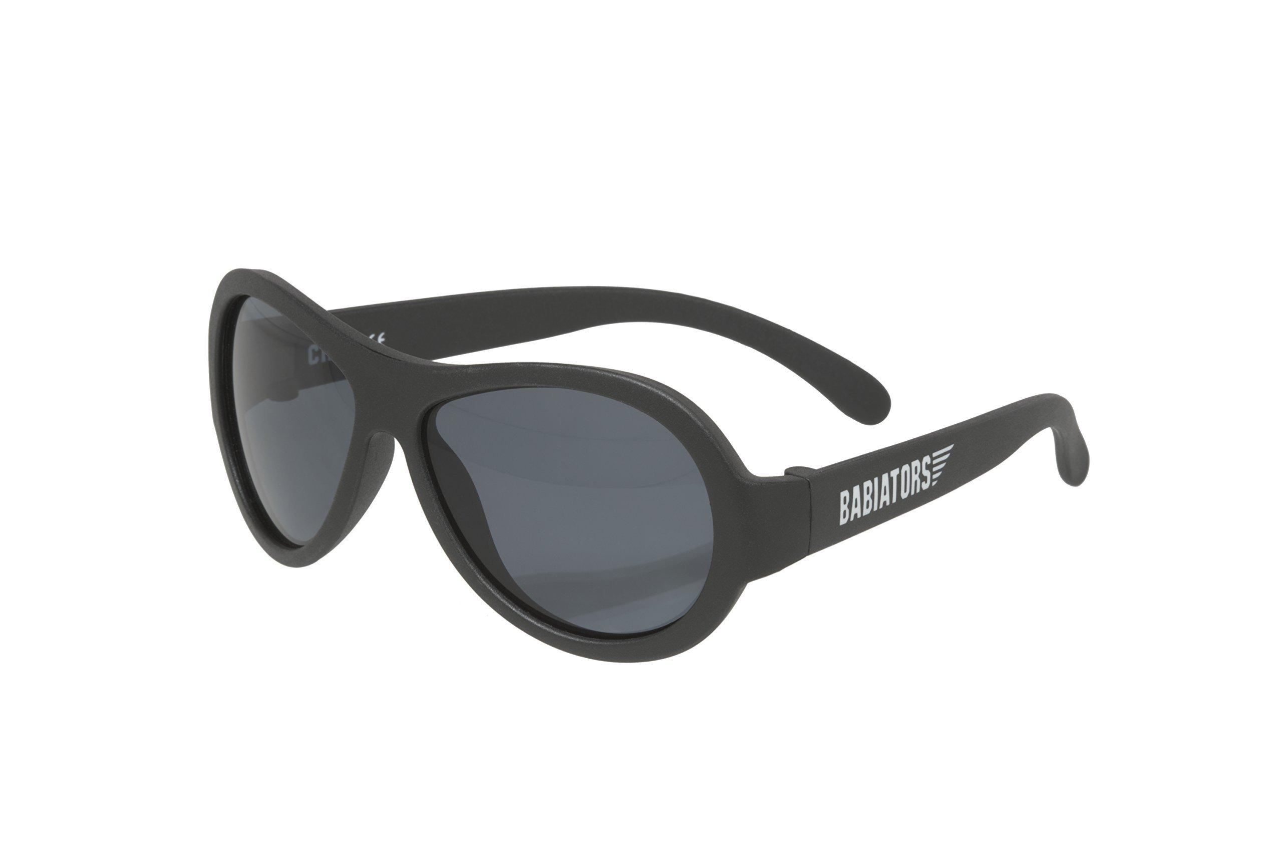 Babiators Original Aviator Sunglasses, Black Ops Black Junior (0-2 years)