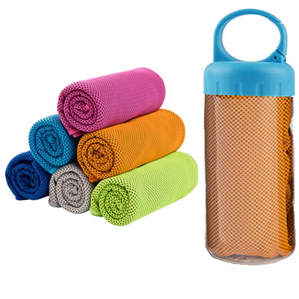 Waxplle - Toalla deportiva de enfriamiento para yoga, golf ...