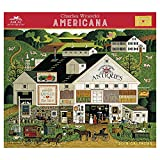 img - for Charles Wysocki - Americana Wall Calendar (2019) book / textbook / text book