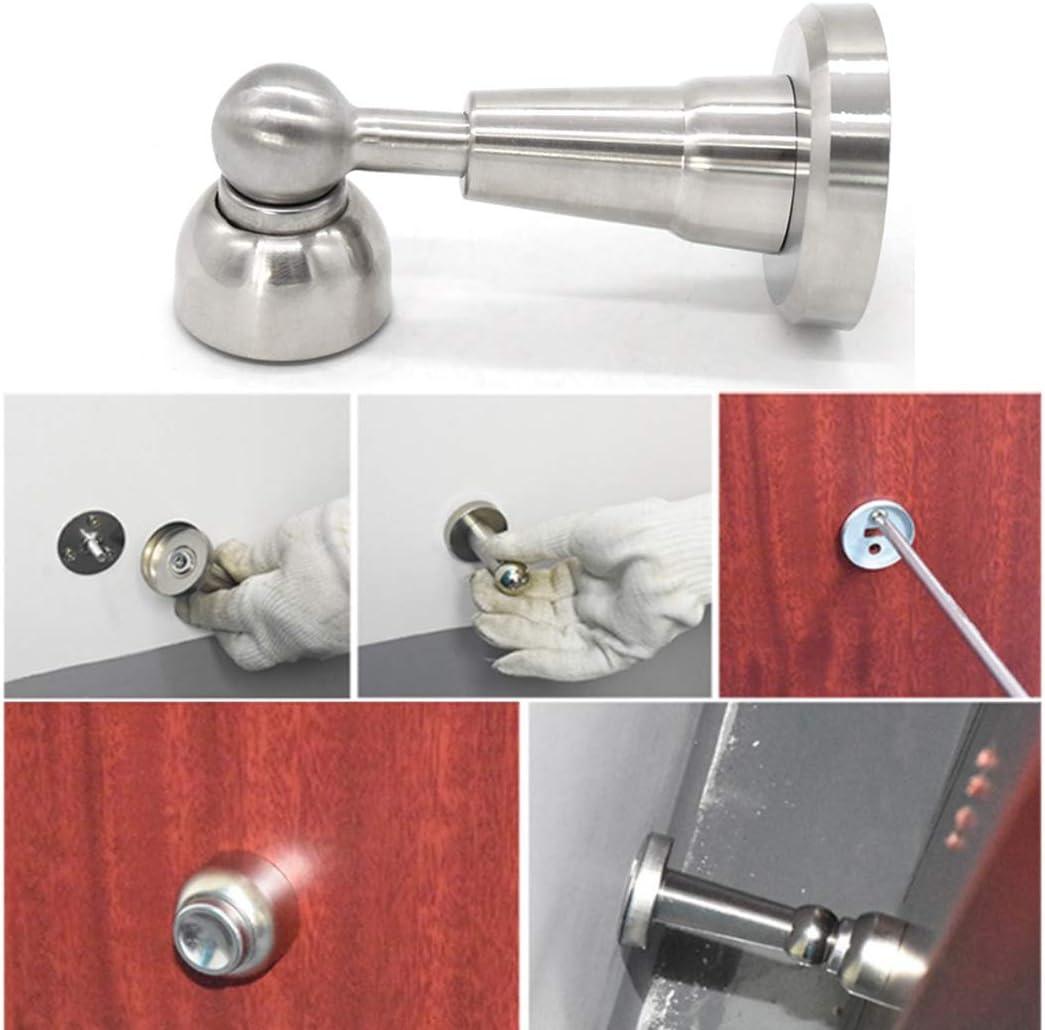 FunPa Door Stopper Magnetic Noise-Free Wall Protector Door Stop Bumper Floor Stopper