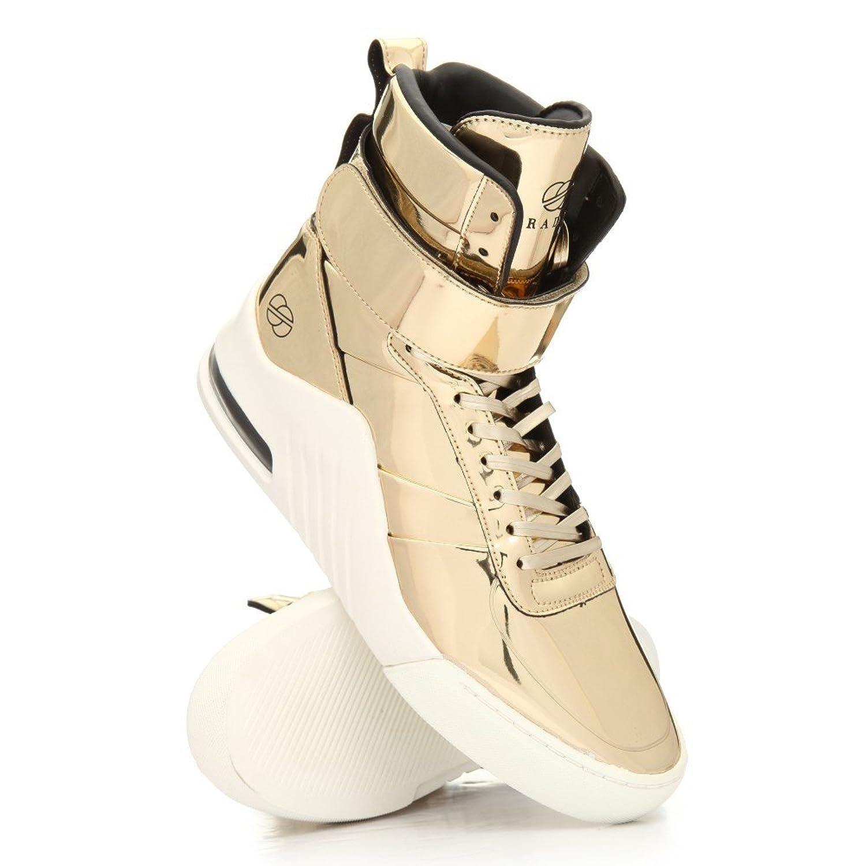 (ラディアイフットウェア) Radii Footwear メンズ シューズ靴 スニーカー apex liquid gold metallic sneakers [並行輸入品] B078BP4146
