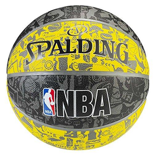 Spalding Graffiti Ballon de Basket Mixte SPAA3|#Spalding 3001551011517