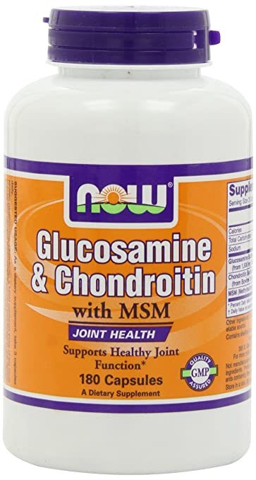 Now Foods Glucosamine & Chondroitin with MSM 355