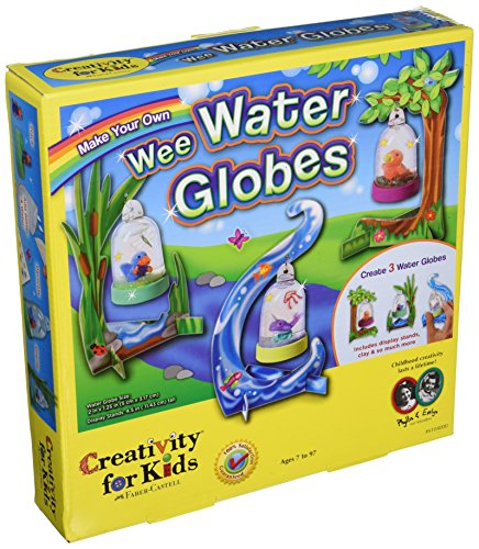 Creativity for Kids Make Your Own Wee Water Globes (Globe Craft)