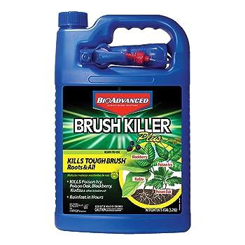 Bio-Advanced Brush Killer Plus Poison Ivy Killer and Stump Remover
