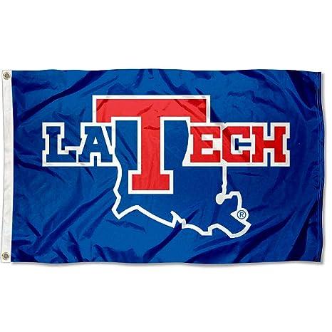 La Tech University >> Louisiana Tech Bulldogs La Tech University Large College Flag