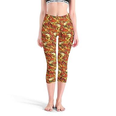 Lijian-Leggings Mallas de Yoga con Estampado Digital para ...