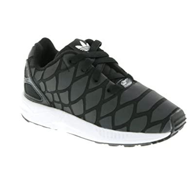 62a0ae498 adidas - ZX Flux Xenopeltis Shoes - Black - 3K  Amazon.co.uk  Shoes   Bags