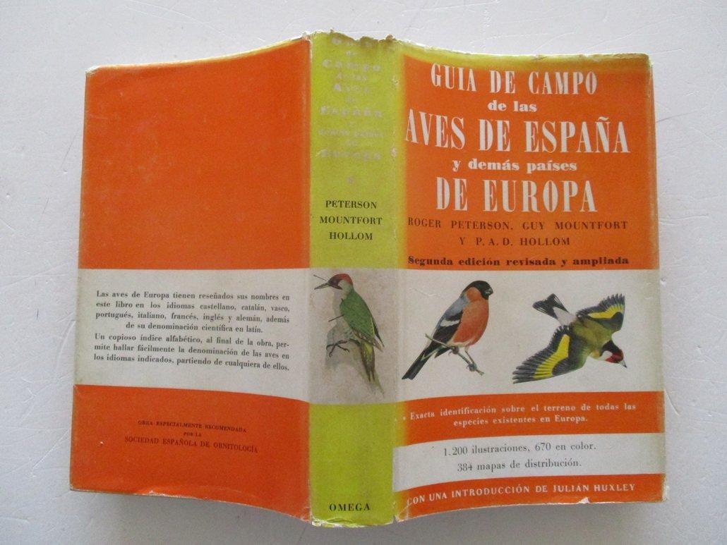 GUIA DE CAMPO DE LAS AVES DE ESPAÑA Y DEMAS PAISES DE EUROPA ...
