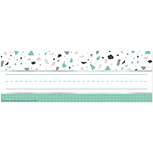 Eureka Multicolor Confetti Adhesive Student Name Plates for School, 36pcs, 3.25'' x 9.5''