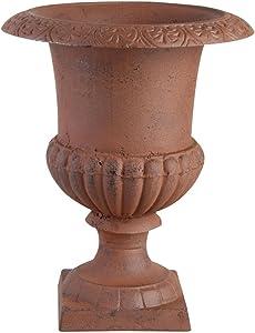 Esschert Design USA XH63-AR Cast Iron French Urn Planter