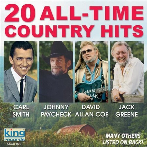CD : VARIOUS ARTISTS - 20 All Time Country Hits (CD)