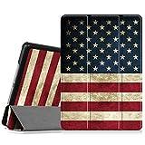 ipad 2 back cover - Fintie iPad Mini 3/2/1 Case - Lightweight Slimshell Smart Stand Cover with Premium PU Leather Back Protector for Apple iPad Mini 1/Mini 2/Mini 3 (Auto Wake/Sleep), US Flag