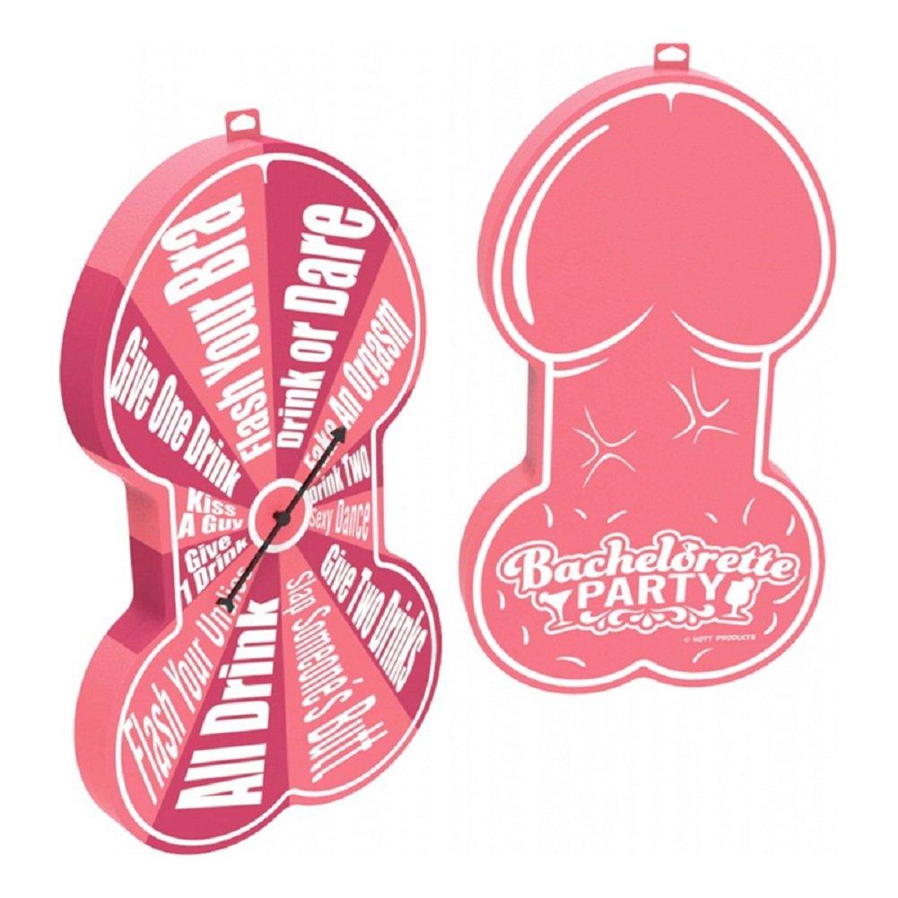 Bachelorette Pecker Foam Spinner Drink Or Dare Game