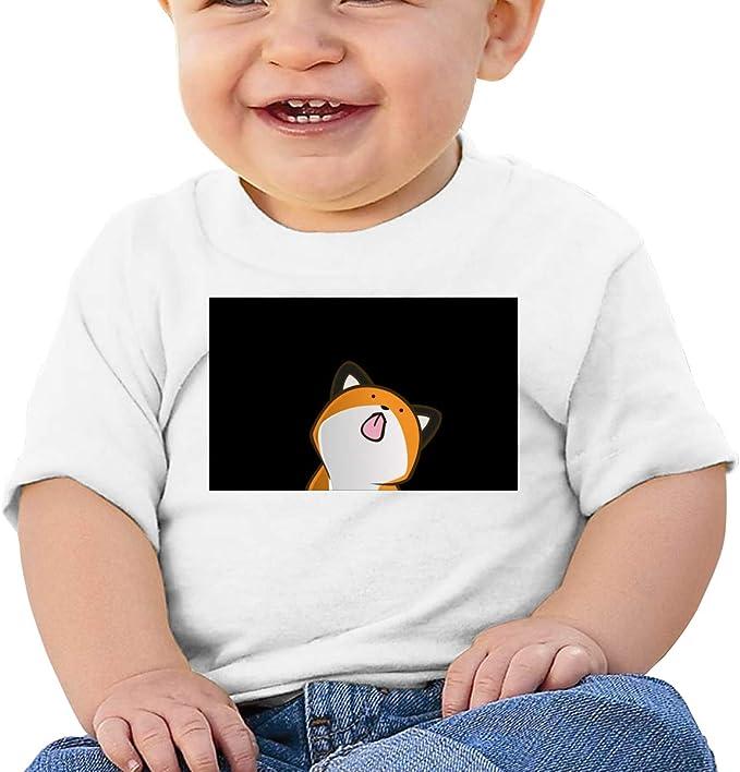 FOECBIR Cute Narwhal Sky Blue Newborn 100/% Cotton Short Sleeves T Shirt for Baby Girls