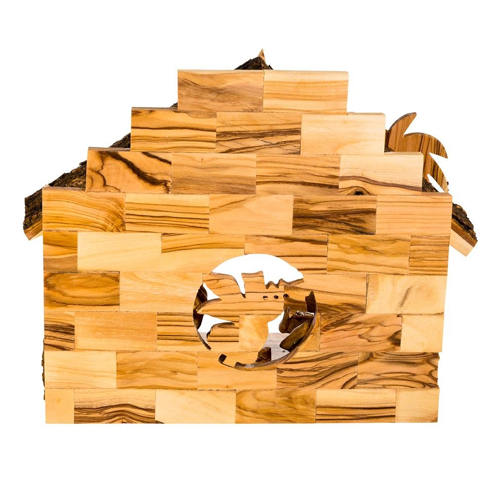 Kurt Adler Double Extra Large Olive Wood Nativity Music Box Home Accessories by Kurt Adler (Image #2)
