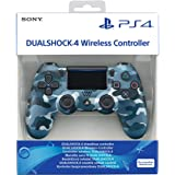 PS4 DualShock Controller DS4 BLUE CAMOUFLAGE 25X (PS4)
