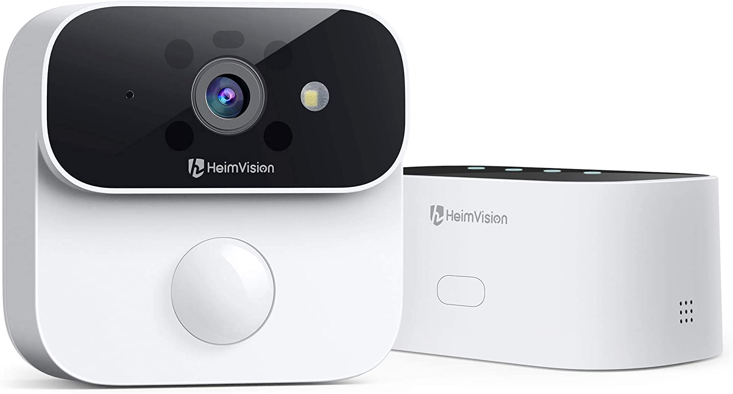 HeimVision Wireless Home Security Camera System, 2K Ultra HD 1-Cam Kit with 365-Day Battery Life, Color Night Vision, PIR Motion Detection, Compatible with Solar Panel, Assure B1 for Indoor/Outdoor