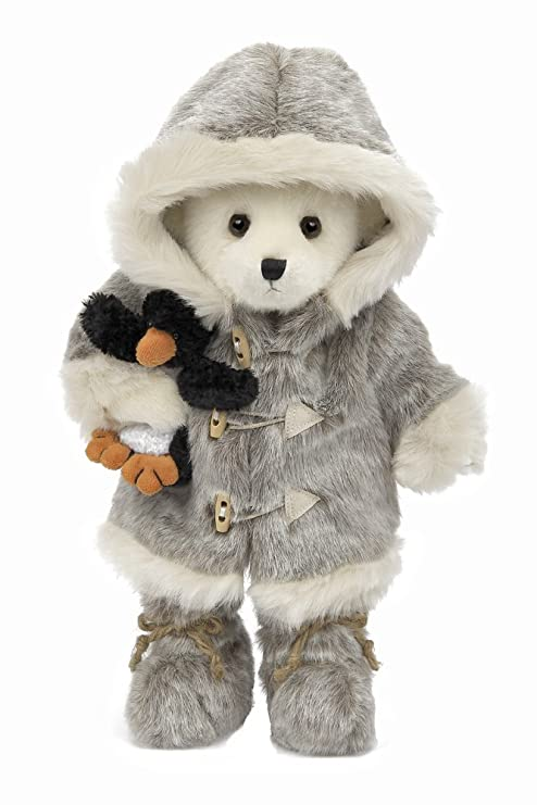 4376b410eb1 Amazon.com  Bearington Iggy and Lou Polar Bear and Penguin