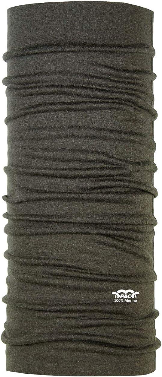 Merino Wool Jagd Multifunktionstuch Schal Kopftuch Halstuch Unisex 10 Anwendungsm/öglichkeiten Merinowoll Schlauchtuch P.A.C