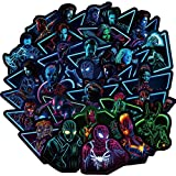 Noctilucent Stickers Marvel Avengers Laptop Stickers Decal-100pcs Waterproof Graffiti Stickers Water Bottle Vinyl Sticker Decals for Superheros,MacBook Car Helmet Bike Motorcycle Bumper (Not Random)