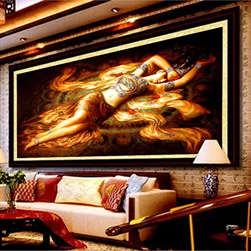 クロスステッチ、敦煌美術、中国のスタイル、P0062 B01HT0QUFM