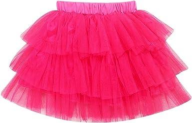 Vannie Niña Faldas de Tutu de Princesa Flower Girl Falda Tul ...