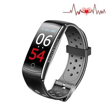 Monitor de actividad física con pantalla de color, reloj inteligente con 4 modos de deporte, ...