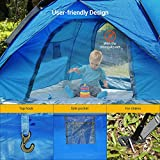 NACATIN 3-4 Person Family Camping Tent,Automatic