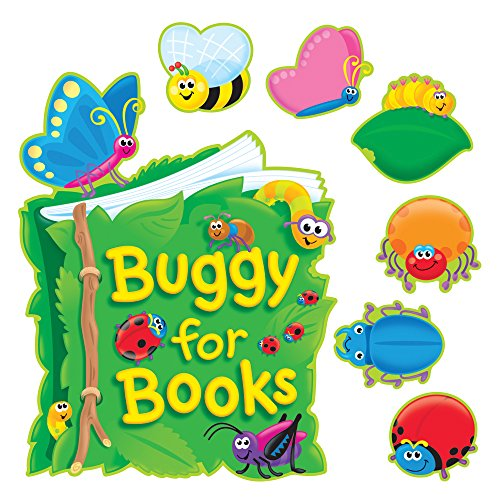 TREND enterprises, Inc. Buggy for Books Bulletin Board ()