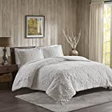 pottery barn quilt  Teton King/Cal King Size Quilt Bedding Set - Ivory, Embroidered – 3 Piece Bedding Quilt Coverlets – Ultra Soft Microfiber Bed Quilts Quilted Coverlet