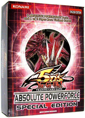 - YuGiOh 5D's Absolute Powerforce SE Special Edition Pack Random Promo Card