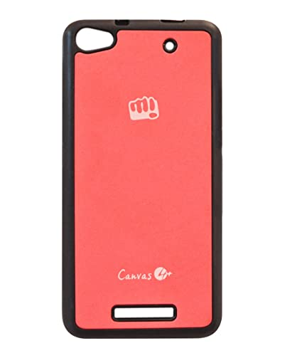 new style 25eea dcaaa COVERNEW Back Cover for Micromax Canvas 4 Plus A315: Amazon.in ...