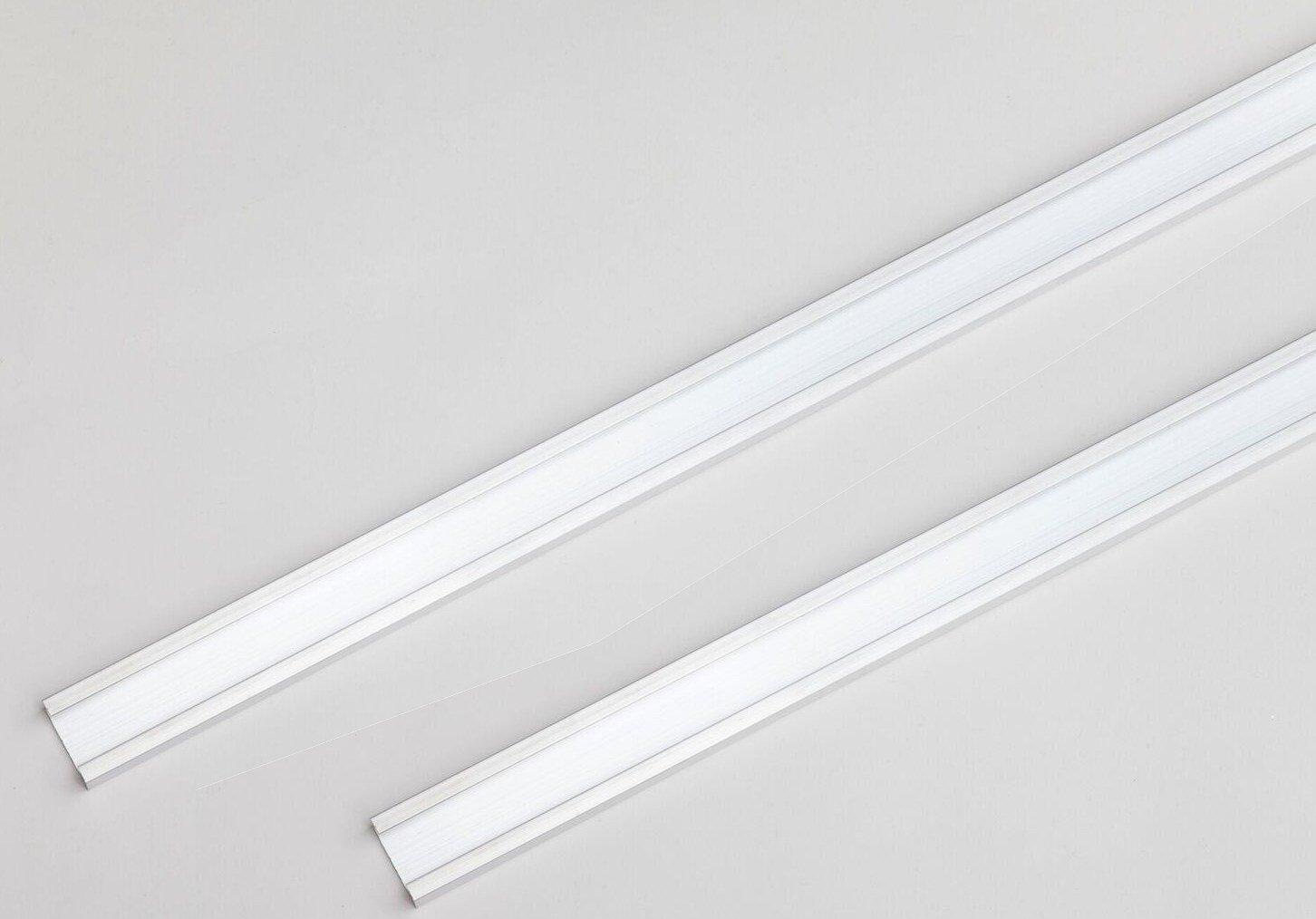Original Aluminium Profilé C Suspension Rail 740mm par exemple pour sanlight M30Lampe pour plantes–1paire (Lot de 2)