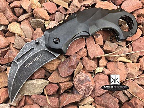 Custom Tactical Liner Lock Knife (7.875