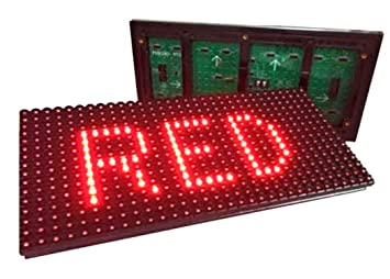 P10 High Brightness - 5V - Dot Matrix Display, Outdoor: Amazon.in:  Electronics