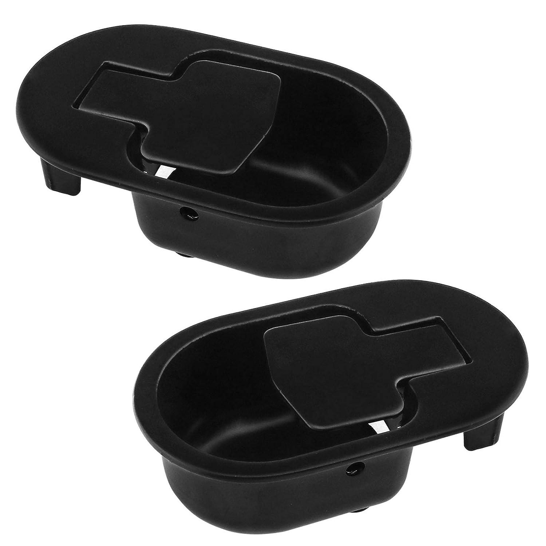 OTOTEC 2 Maniglie di Ricambio per divani e poltrone reclinabili ovali Colore Nero