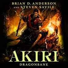 Dragonbane Audiobook by Brian D. Anderson, Steven Savile Narrated by Jonathan Davis