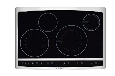 Electrolux EW30CC55GSWave Touch 30u0026quot; Black Electric Hybrid Induction  Cooktop