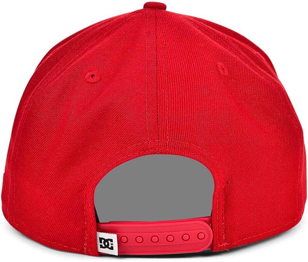 DC Shoes Red Fielder Adjustable Snapback Cap