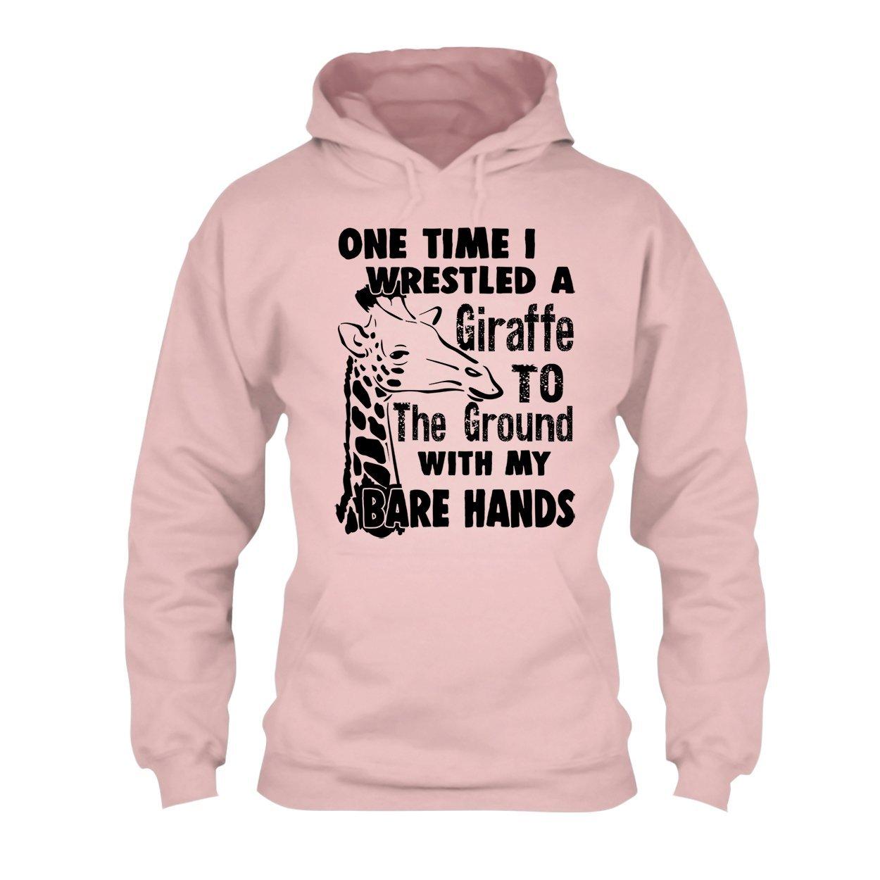 Tee Shirt Mens Shirt I Wrestled A Giraffe Shirt