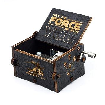 FOONEE Caja de Música Harry Potter, Cajas de Música Pequeñas para Mujeres/Niñas / Niños/Niños, Artesanías de Caja de Madera Tallada Antigua (C): Amazon.es: ...