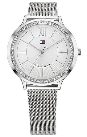Tommy Hilfiger Reloj Análogo clásico para Mujer de Cuarzo con Correa en Acero Inoxidable 1781862: Amazon.es: Relojes