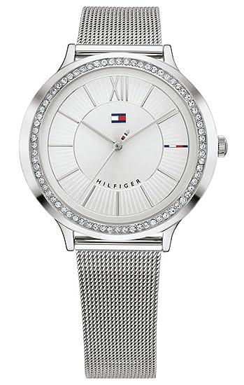 Tommy Hilfiger Reloj Análogo clásico para Mujer de Cuarzo con Correa en Acero Inoxidable 1781862