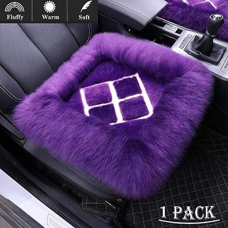 LifeUp Piel de carnero Cubiertas de asiento de coche, Lana ...