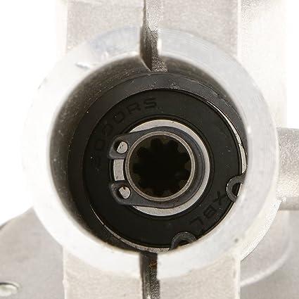 9 Spline Reductor Cabeza de Engranaje 26mm Caja de Cambios Cortadora de Césped Cepillo Condensadores: Amazon.es: Jardín