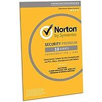 Norton Security Premium 2019 | 10 Geräte | 1 Jahr | PC/Mac/iOS/Android | Download