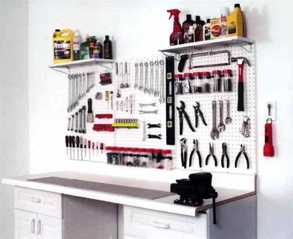 peg cabinets best interiors tips board wall other the ever for storage garage pegboard and